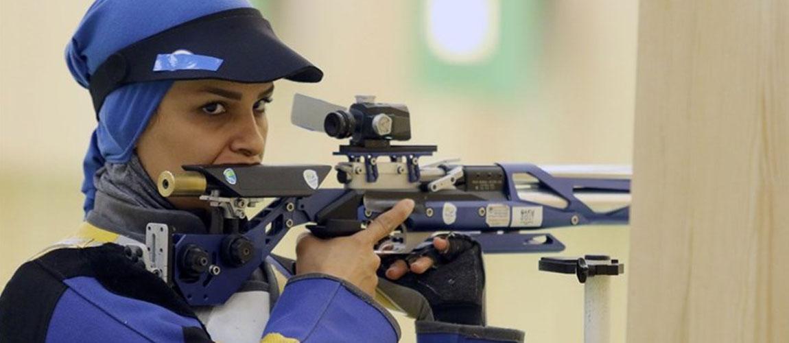 Iranian shooter Ahmadi wins gold at 2018 ISSF World Cup