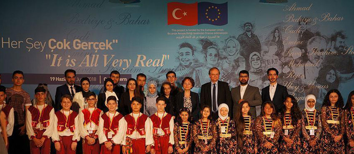 EU delegation opens exhibition on refugees in Ankara