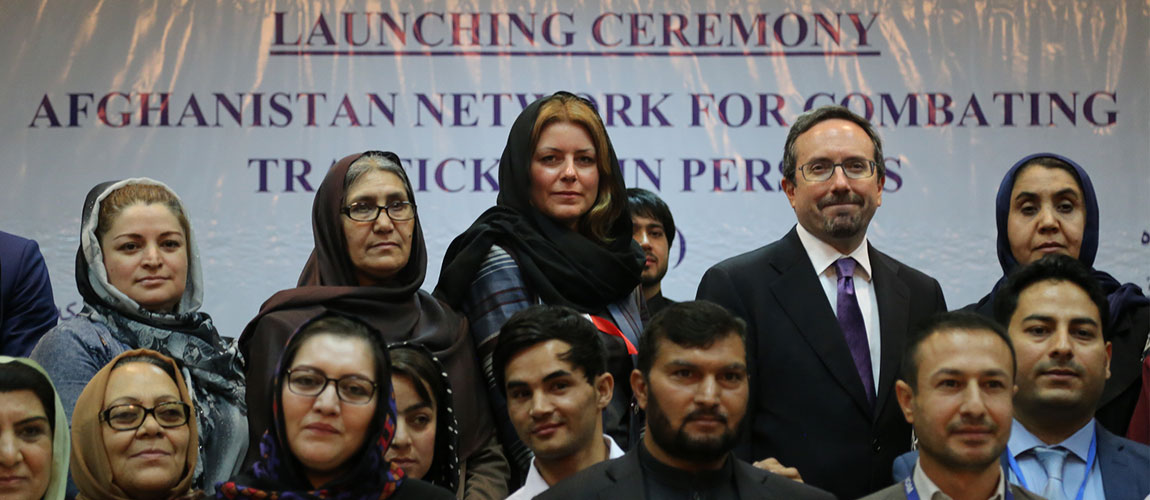 Afghanistan Launches First Referral Network to Combat Trafficking in Persons