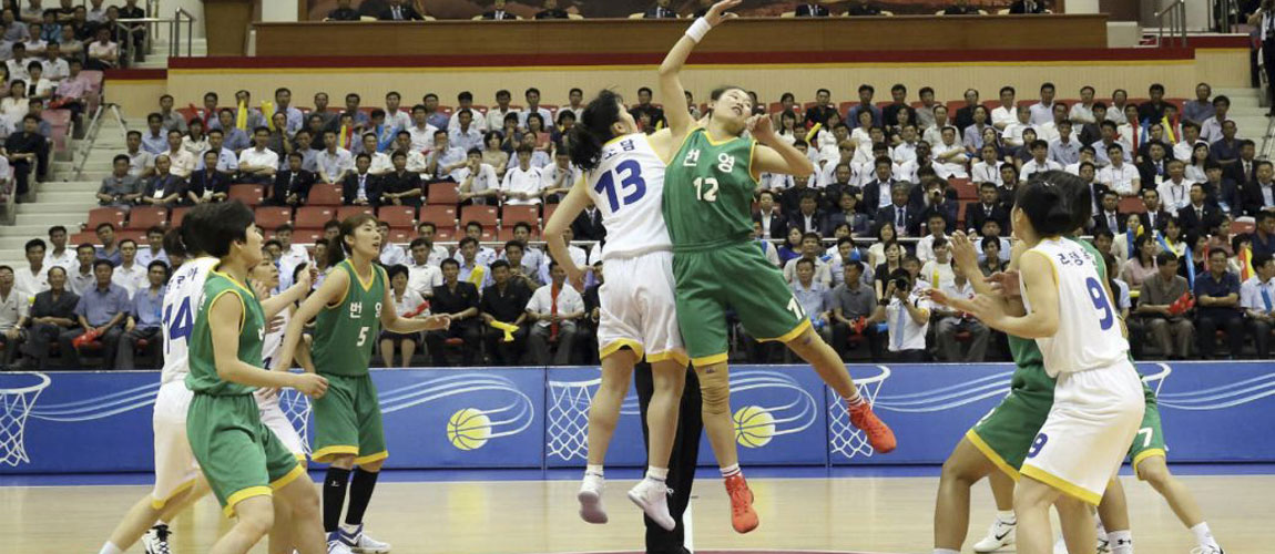 Koreas begin basketball friendlies in latest peace gesture